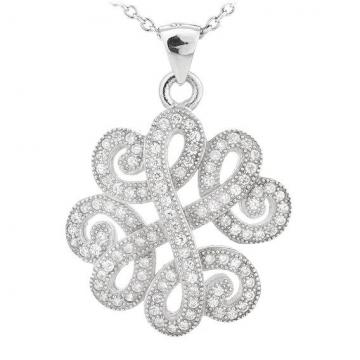 Colier din argint 925% Lucky Clover de la Luxury Concepts Srl