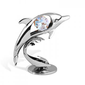 Figurina Delfin cu cristale Swarovski de la Luxury Concepts Srl