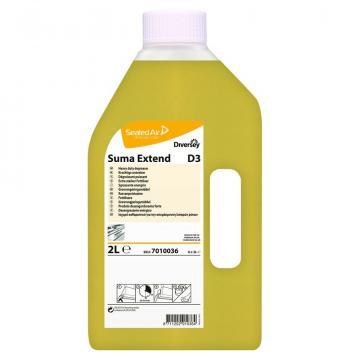 Detergent degresant bucatarie Suma Extend D3, Diversey, 2L