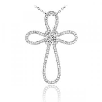 Cruciulita argint Fine Luxury Silver Cross Argint 925