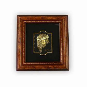 Icoana Iisus incrustata cu fir de aur - Velasquez - Toledo