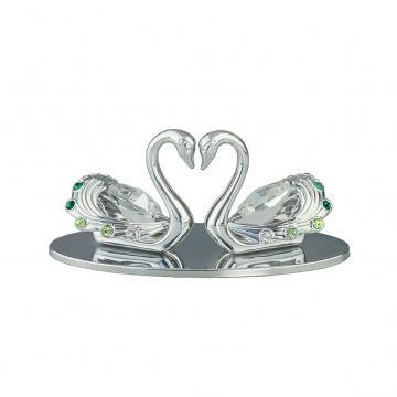 Decoratiune Lebede cu cristale Swarovski de la Luxury Concepts Srl