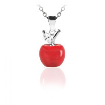 Martisor pandantiv din argint 925 Charming Apple de la Luxury Concepts Srl