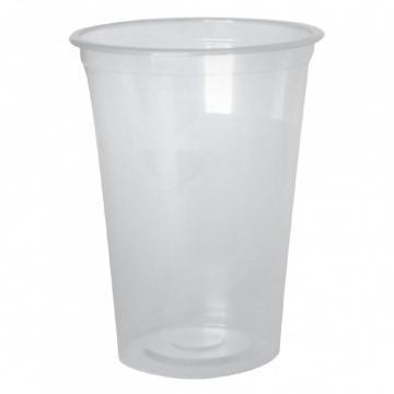 Pahare plastic 500 CC, PET, 50 buc/set