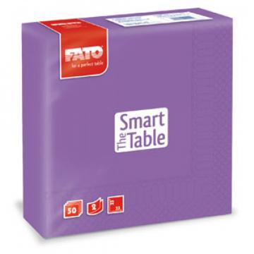 Servetele 33x33 cm, 2 straturi, Smart Table Violet, Fato