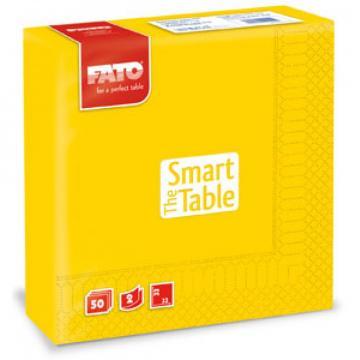 Servetele 33x33 cm, 2 straturi, Smart Table Yellow, Fato