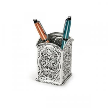 Suport argintat pentru pixuri by Sheffield - Chinelli Italy