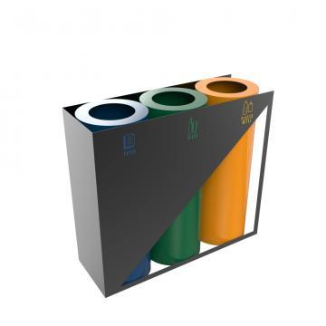 Cosuri de gunoi Triolet PC, 35L, 60L, 100L