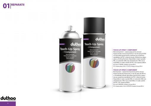 Vopsea bicomponenta pentru retusat Touch-ul spray