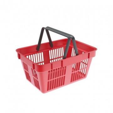 Cos cumparaturi din plastic 22 litri rosu/verde/albastru de la Sedona Alm