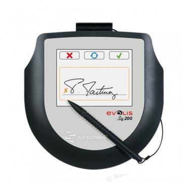 Tableta pt. semnatura Evolis Sig200 + Software Signo Sign de la Sedona Alm