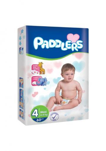 Scutece copii Paddlers, marime 4, Maxi, 240 buc/set, 8-18 kg de la Europe One Dream Trend Srl
