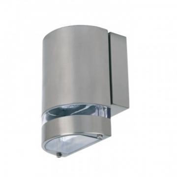 Aplica de exterior Gardenya-3, Inox, IP44, GU10, max 35W de la Viva Metal Decor Srl