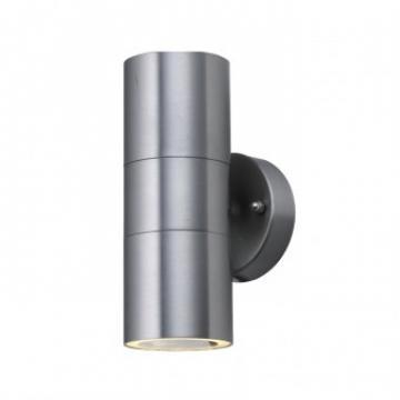 Aplica de exterior Manolya-2, Inox, IP44, GU10, max 2x35W de la Viva Metal Decor Srl