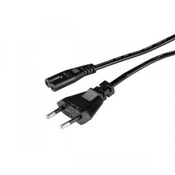 Cablu alimentare TV Hama 1m negru de la Thegift.ro - Cadouri Online