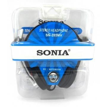 Casti stereo cu microfon Sonia SN-285MV