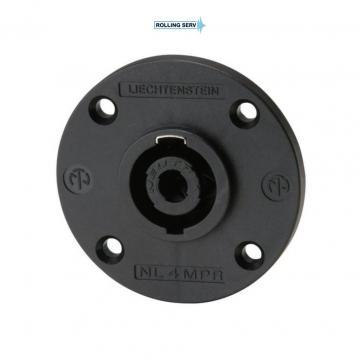 Conector SpeakON Tata de panou cu 4 poli Neutrik NL4MPR de la Sc Rolling Serv Srl