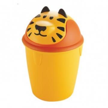 Cos de gunoi Strend Tiger, capacitate 10L, plastic