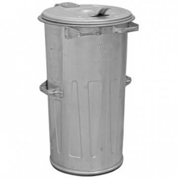 Cos de gunoi din tabla Strend Pro Kuka, cu capac, 110 L