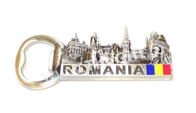 Desfacator, magnet de frigider Romania, Dracula