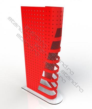 Display tabla perforata pentru blistere 0106 de la Rolix Impex Series Srl