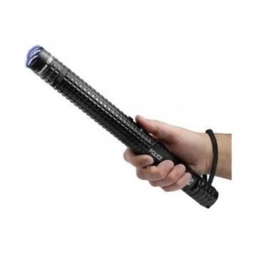 Electrosoc baston police metalic cu lanterna X8 de la Preturi Rezonabile