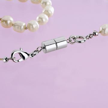 Inchizatori magnetice pentru bijuterii - argintiu