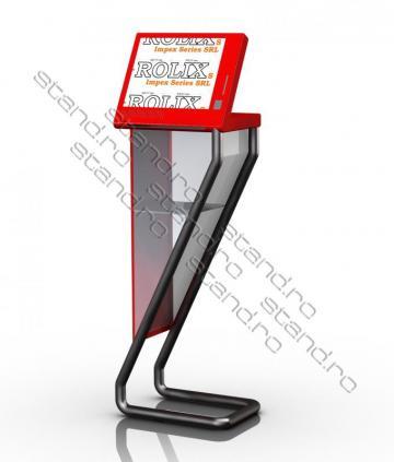 Stand Infokiosk scanare documente 0380 de la Rolix Impex Series Srl