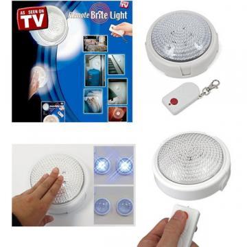 Lampa LED cu baterii si telecomanda Remote Brite Light
