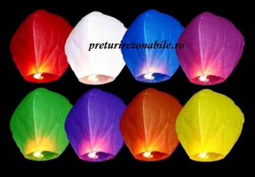 Lampioane zburatoare diverse culori de la Preturi Rezonabile