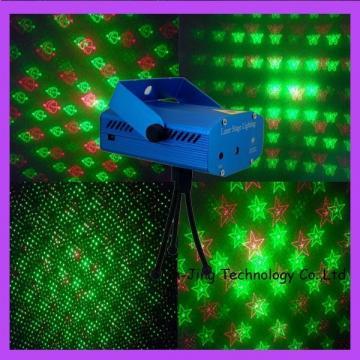 Mini laser cu 4 figurine luminoase stage lighting