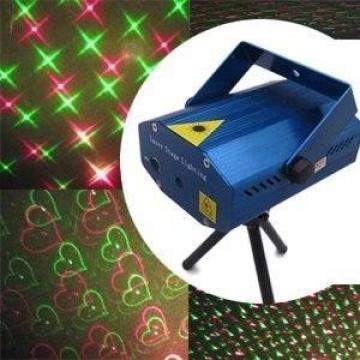 Mini laser rosu si verde Stage Lighting YX-08