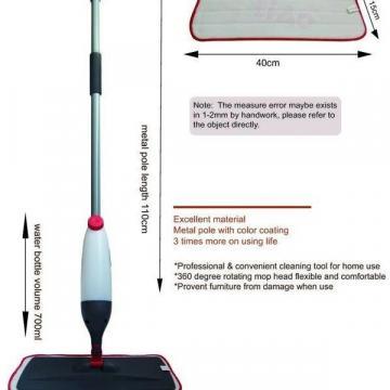 Mop cu microfibra spray Microfiber Spray Mop