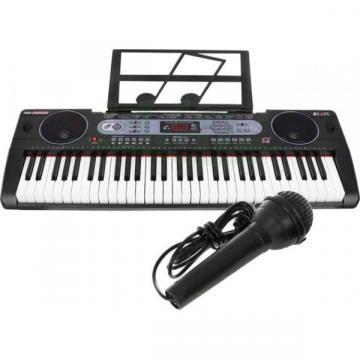 Orga electronica 61 de clape MQ-602UFB cu Bluetooth si USB