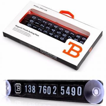 Placuta magnetica afisare numar telefon pentru autoturism de la Www.oferteshop.ro - Cadouri Online