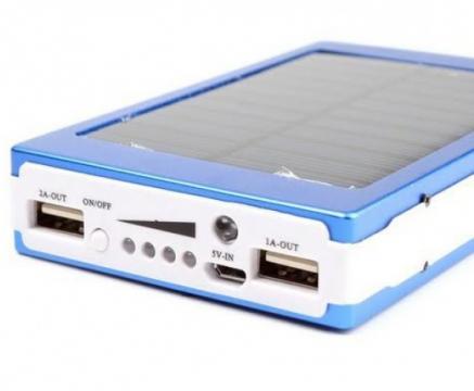 Baterie externa Power Bank solar 20000mAh