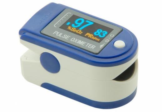 Pulsoximetru Contec CMS50D de deget pentru adulti si copii de la Www.oferteshop.ro - Cadouri Online