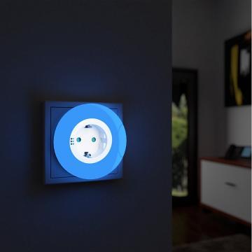 Set 2 lampi de noapte si orientare cu LED I-Glow