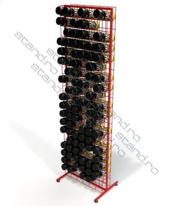 Stand (POSM) plasa sarma pentru spray-uri 0240