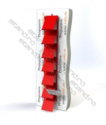 Stand brosuri, albume - 0034 de la Rolix Impex Series Srl