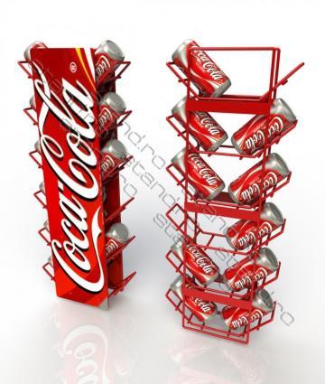 Stand expozor (dispenser) Coca-Cola 0694