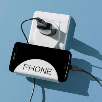 Suport telefon mobil incarcare la priza