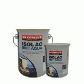 Vopsea acrilica Isomat Isolac Aqua Glos, white 0,75 litri de la Izotech Services