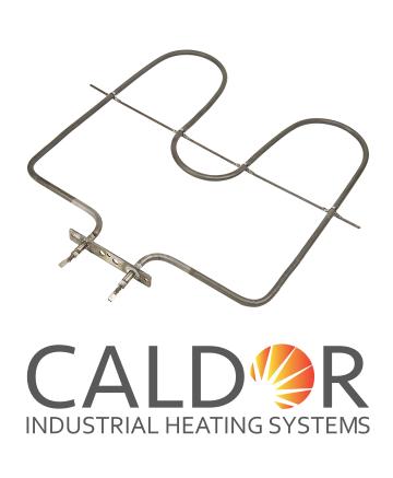 Rezistenta electrica pentru cuptor 1800W cu flansa de la Caldor Industrial Heating Systems Srl