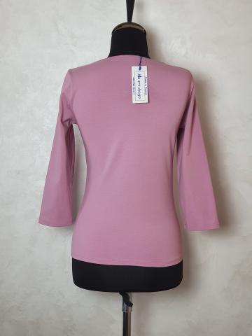 Bluza tricot cu nod BT1001 de la Sc Blu Art Design Srl