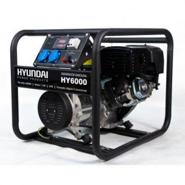 Generator de curent electric, putere 5 kVA, HY6000 Hyundai