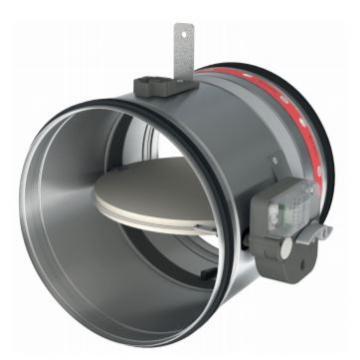 Amortizor circular ignifug 160 CR120+