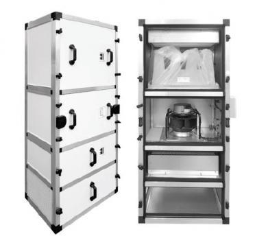 Unitate purificare aer UPA-UV-3000-HEPA-CG