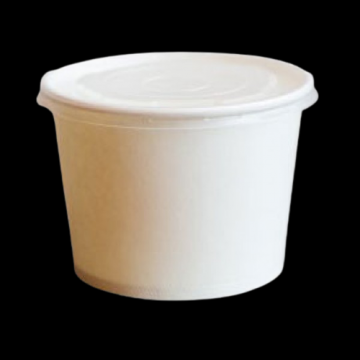 Bol supa carton alb 12oz (355ml) 1000 buc/bax de la Cristian Food Industry Srl.