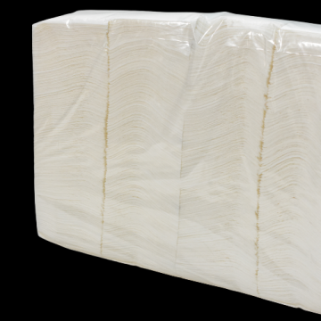 Servetele albe vrac 25x25cm, 2kg/bax de la Cristian Food Industry Srl.